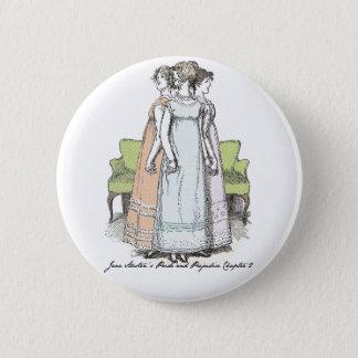 Die Bennet-Schwestern - Jane Austens P&P Ch 2 Runder Button 5,7 Cm