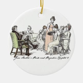 Die Bennets von Longbourn - Jane Austens P&P Keramik Ornament
