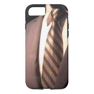 Die berufliche Reihe u. die Krawatte der Männer iPhone 7 Hülle
