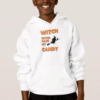 Die bessere Hexe haben mein Süßigkeits-Shirt Hoodie