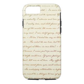Die Best-Zitate von Jane Austen iPhone 8/7 Hülle