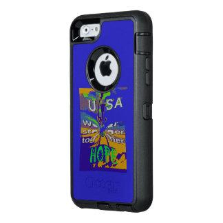 Die beste Hoffnung für USA stärker zusammen OtterBox iPhone 6/6s Hülle