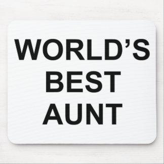 Die beste Tante der Welt Mousepad