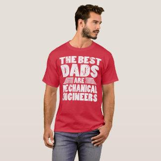 Die besten Vatis sind Maschinenbauingenieur-T - T-Shirt