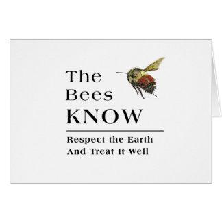 Die Bienen wissen Karte
