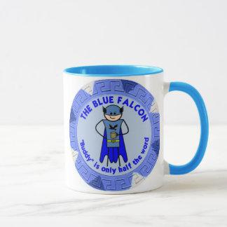 Die blaue Falke-Tasse Tasse