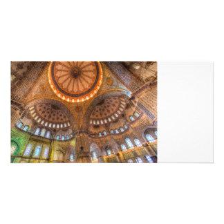 Die blaue Moschee Istanbul Karte