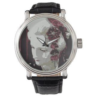 die blonde Geisha Armbanduhr