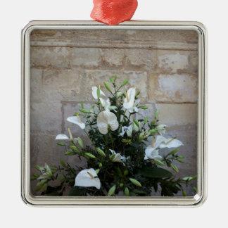 Die Blumen Silbernes Ornament