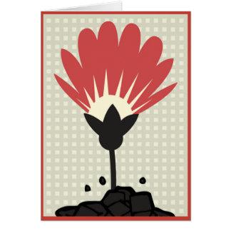 Die Blüte Karte