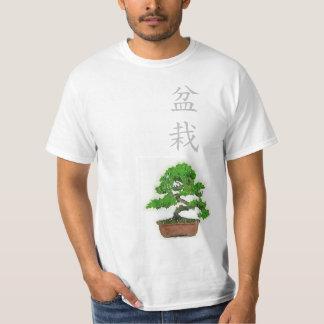 Die Bonsais-Baum-T - Shirt der Männer japanischer