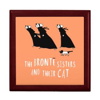 Die Bronte Schwestern und ihre Katze Geschenkbox