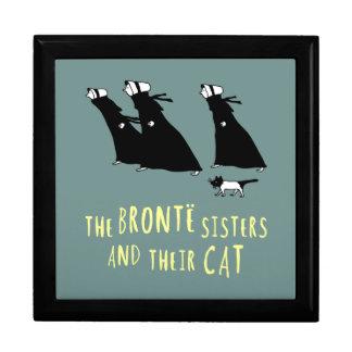 Die Bronte Schwestern und ihre Katze Schmuckschachtel