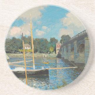 Die Brücke bei Argenteuil - Claude Monet Untersetzer