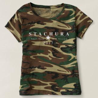 Die Camouflage der Frau T-shirt