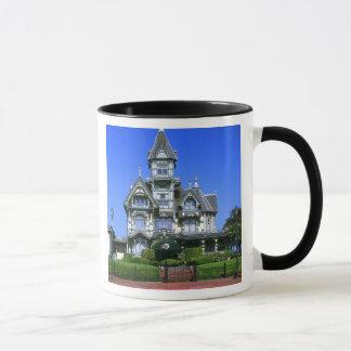 Die Carson-Villa in Eureka, Kalifornien Tasse