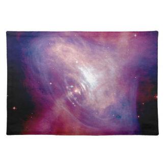 Die Chandra Krabben-Röntgenstrahl-Nebelfleck NASA Tischset