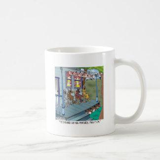 Die Cheshire-Katze hat Gebisse Kaffeetasse