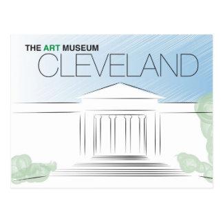 Die Cleveland-Kunst-Museums-Postkarte Postkarte