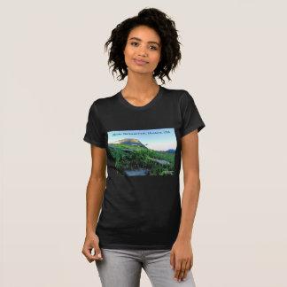 Die Crew-Hals-Gletscher-Nationalpark-T - Shirt der