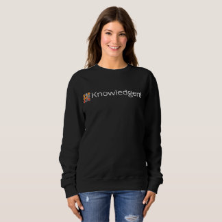 Die Crew-Hals-Sweatshirts Knowledgent Frauen Sweatshirt