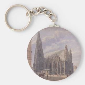 Die des St Stephen Kathedrale in Wien durch Schlüsselanhänger