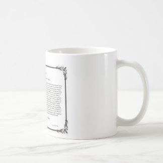 Die Desiderata-Gedicht-Kaffee Mug=Daily Kaffeetasse