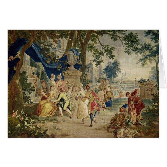 Die Dorf Party nach D.Teniers Karte
