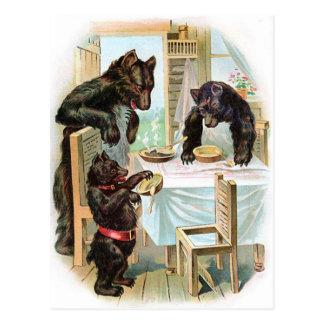 Die drei Bären Postkarte