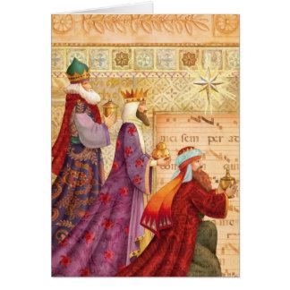 Die drei Könige Karte