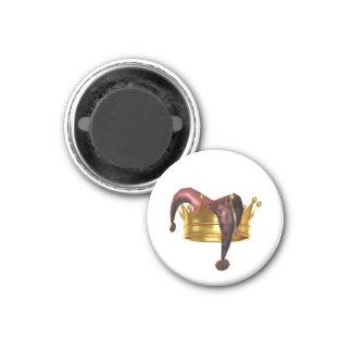 Die Dummköpfe u. die Könige Project Simple Logo Runder Magnet 3,2 Cm