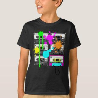 die dunklen Shirts des 80er Spalt