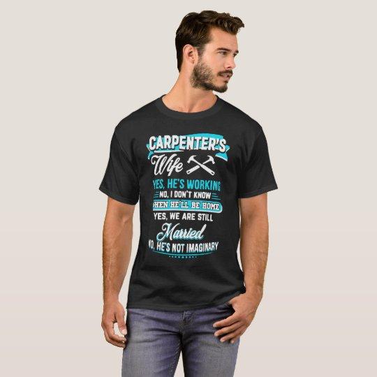 Die Ehefrau-Shirts des Tischlers T-Shirt