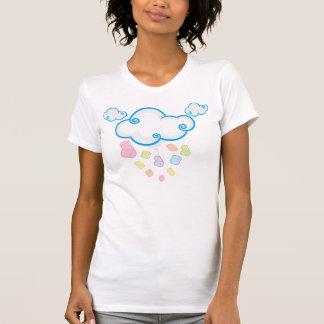 Die Eibisch-Frauen regnen (weiß) T-Shirt