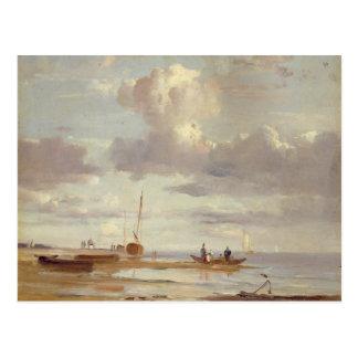 Die Elbe bei Blankenesee Postkarte
