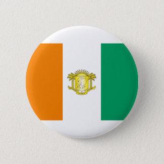 Die Elfenbeinküste - die Elfenbeinküste Runder Button 5,1 Cm