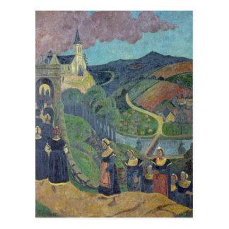 Die Entschuldigung von Notre-Freifrau-DES-Portes Postkarte