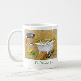 Die Entspannung Tasse-fertigen besonders an Tasse