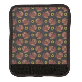 Die Erntedank-Herbst-Türkei-Tafel-Muster Gepäck Markierung