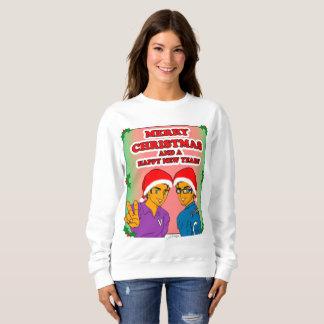 Die Eroberer-WeihnachtsSweatshirt der Frauen Sweatshirt