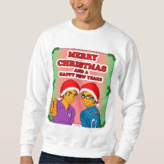 Die Eroberer-WeihnachtsSweatshirt der Männer Sweatshirt