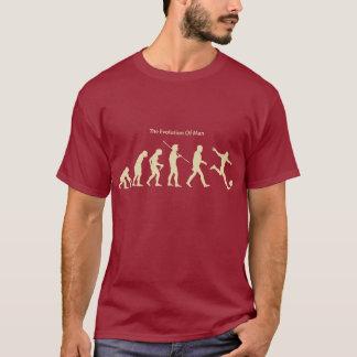 Die Evolution des T - Shirt des Mann-(Fußball)