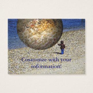 Die Fantasie des subjektives Wirklichkeits-Kindes Visitenkarte