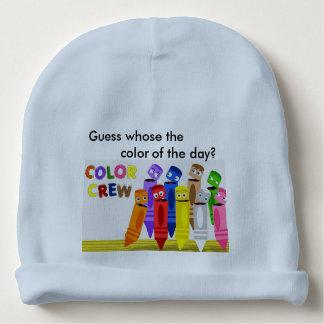 die FarbCrew (blau) Babymütze