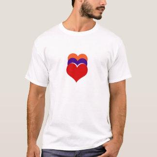 Die Farbe der Herzen T-Shirt