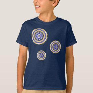 Die Farben des neue Jahr-Kindes und des T-Shirt