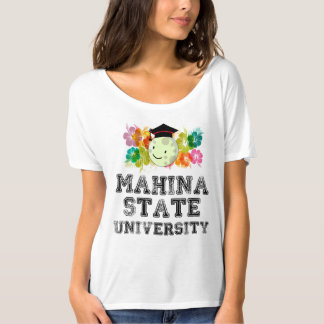 Die feinste Universität in Mahina, Hawaii T-Shirt