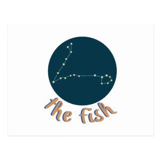 Die Fische Postkarte