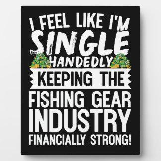 Die Fischindustrie finanziell stark behalten Platten