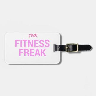 Die Fitness Freak-Rose Kofferanhänger
